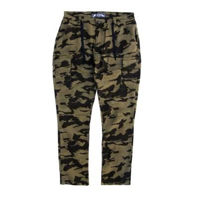 calça cargo comfort camuflado elastano yeah