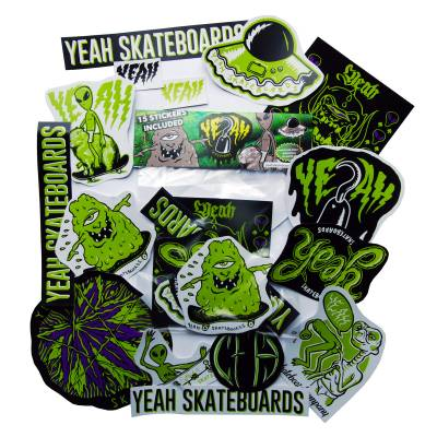 yeah stickers pack