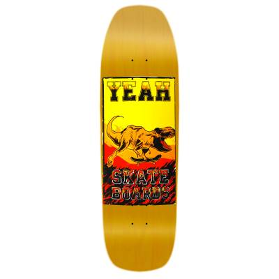 shape old school T-Rex Yeah skateboards