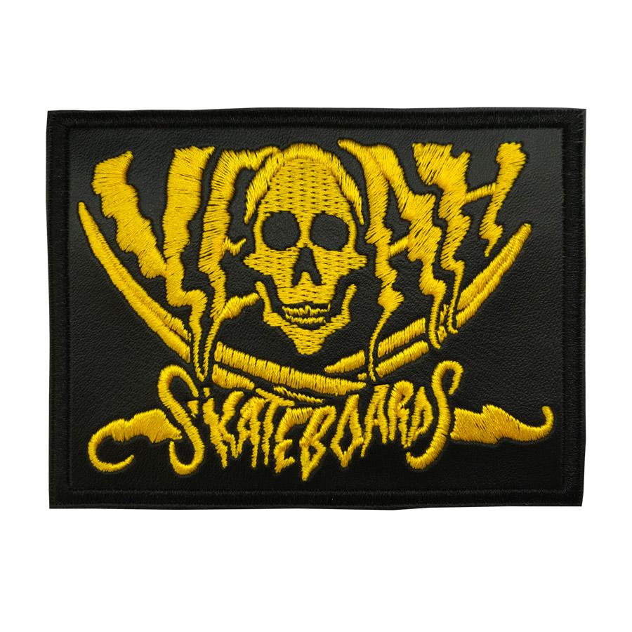 pirata patch amarelo